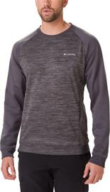 Columbia Tech Trail Midlayer Crew Pullover Men, shark