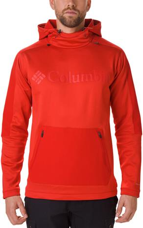 Columbia Maxtrail Midlayer Top Men, mountain red