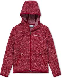 Columbia Chillin Full Zip Fleece Jacket Youth, pomegranate