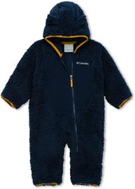 Columbia Foxy Baby Sherpa Bunting Overall Infant, collegiate navy/ canyon gold