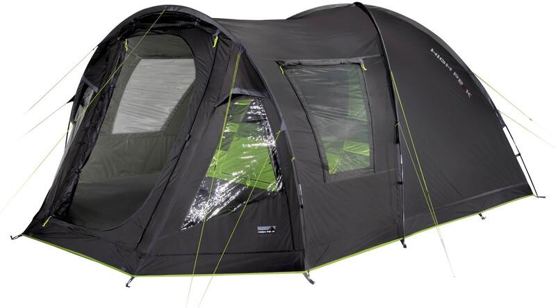 High Peak Andros 4.0 Tent, darkgrey/green