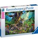 Ravensburger Wolves in the Forest 1000p palapeli