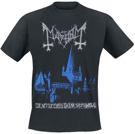 Mayhem - De Mysteriis Dom Sathanas - T-paita - Miehet - Musta