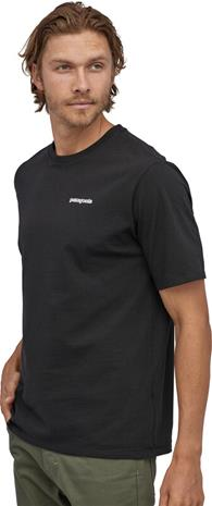 Patagonia P-6 Logo Responsibili Tee Men, black