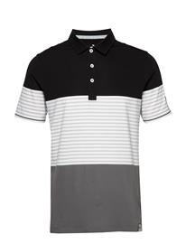 PUMA Golf Taylor Polo Polos Short-sleeved Sininen PUMA Golf DARK DENIM