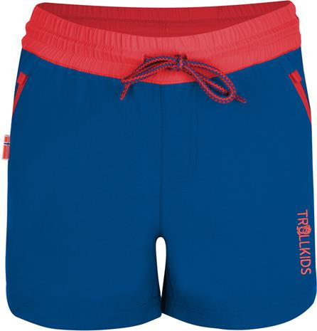 TROLLKIDS Arendal Shorts Girls, midnight blue/coral