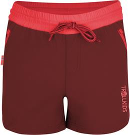 TROLLKIDS Arendal Shorts Girls, mystic red/coral