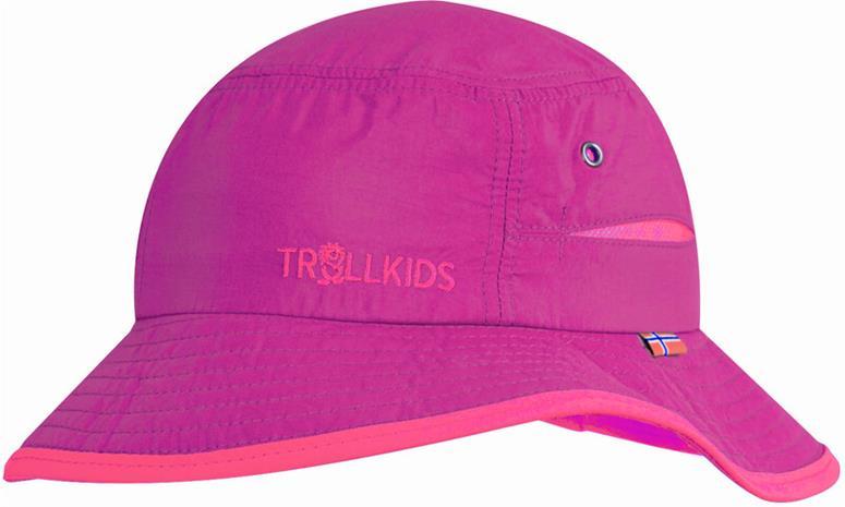 TROLLKIDS Trollfjord Hat Kids, dark rose/magenta