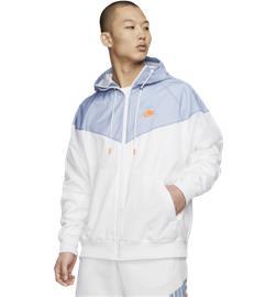 Nike M NSW HE WR JKT HD WHITE/INDIGO FOG