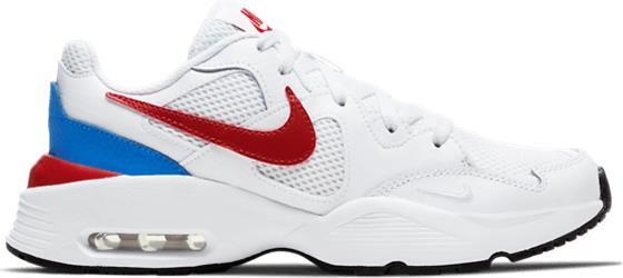 Nike J AIR MAX FUSION GS WHITE/GYM RED
