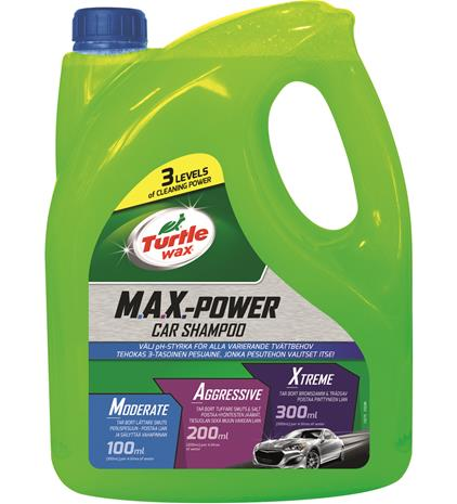 Turtle Wax Max-Power Car Wash 4L shampoo