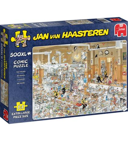 Jumbo Jan Van Haasteren The Kitchen 500p XL palapeli