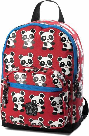 Pick & Pack Reppu Panda, Punainen