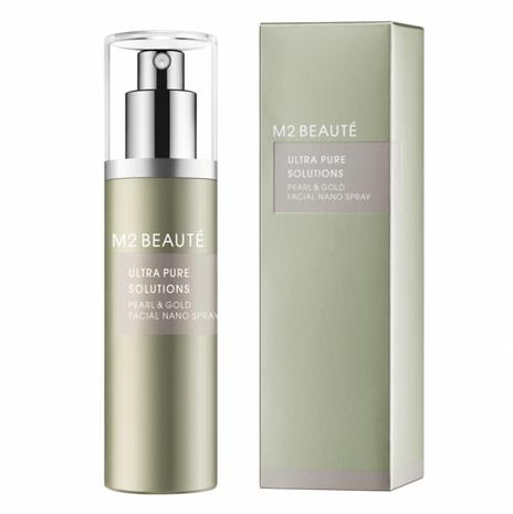 M2 Beaute Ultra Pure Solution Pearl & Gold Facial Nano Spray (75ml)