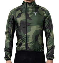 Void M WIND JACKET OLIVE SHIELD