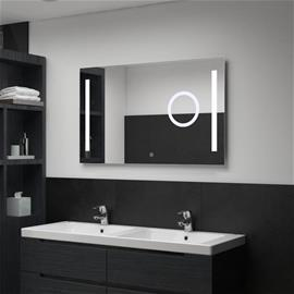 vidaXL Kylpyhuoneen LED seinäpeili kosketussensorilla 100x60 cm