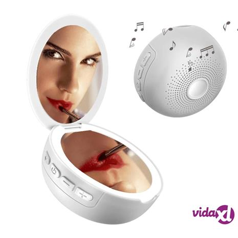 INF Meikkipeili LED- ja Bluetooth-kaiuttimilla