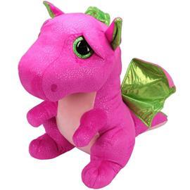 TY Beany Boos Darla Pink Dragon Large Plush Toy Pehmo 42cm