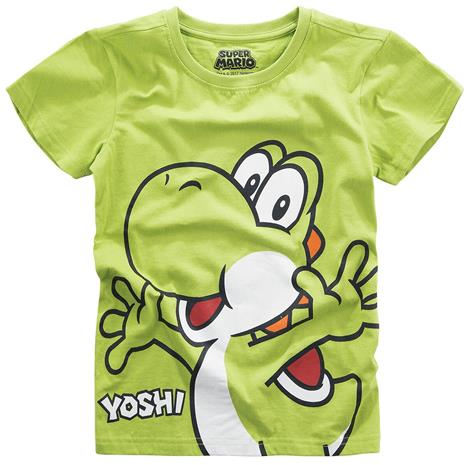 Super Mario - Yoshi - T-paita - Lapset - Vihreä