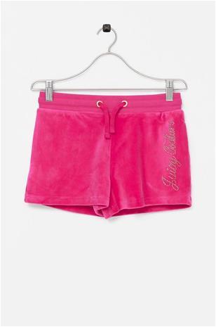 Juicy Couture Shortsit Juicy Luxe Velour Diamante Short