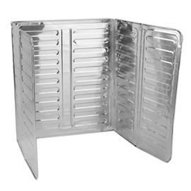 Stänkskydd för spisen - Aluminium 2-pack, Kalusteet ja sisustus
