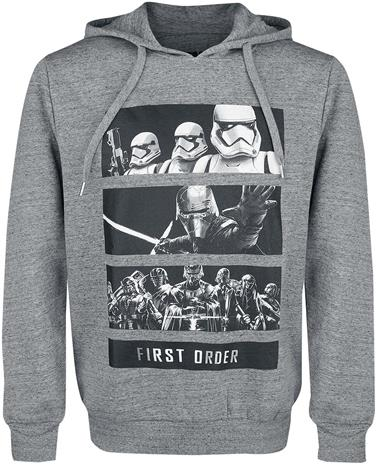 Star Wars - Episode 9 - Der Aufstieg Skywalkers - First Order - Huppari - Miehet - Sävytetty harmaa