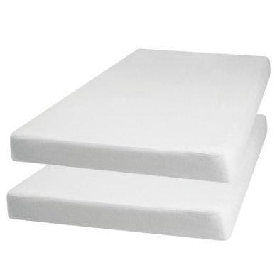 Playshoes Terry-arkki 2-pakkaus valkoinen