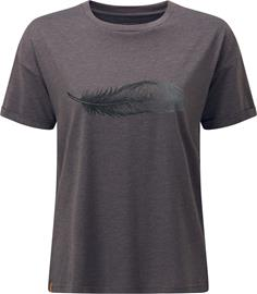 tentree Featherwave Relaxed T-Shirt Women, boulder grey heather