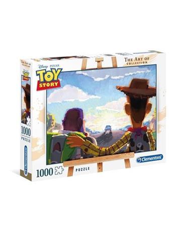 "Clementoni 1000 pcs. ""The Art Of"" Collection Toy Story Lattia"