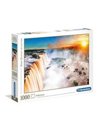 Clementoni 1000 pcs. High Color Collection WATERFALL Lattia