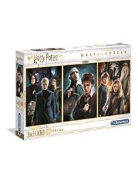 Clementoni 3x1000 pcs. High Quality Collection Harry Potter Lattia