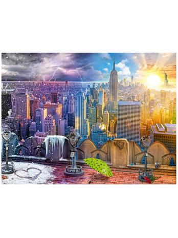 Ravensburger Day & Night NYC Skyline 1500p