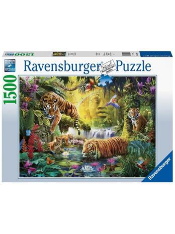 Ravensburger Tranquil Tigers 1500p