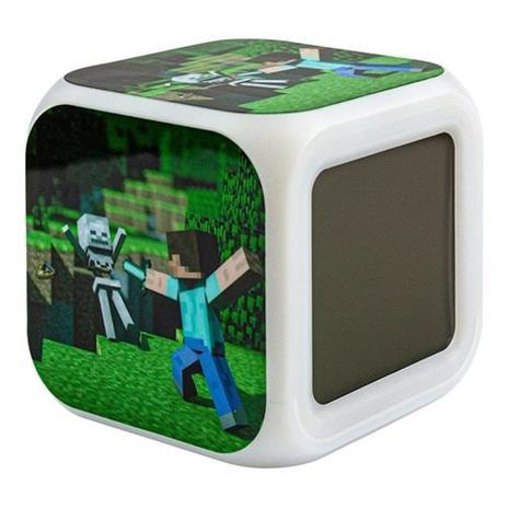 Minecraft Digitaalinen Herätyskello - Steve Nro 1