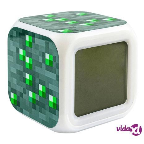 Minecraft Digitaalinen Herätyskello - Emerald Ore