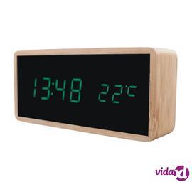 eStore Digitaalinen herätyskello puu-designilla - Vihreä