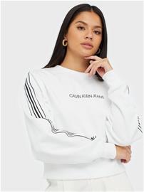 Calvin Klein Jeans Stripe Tape Cropped Cn