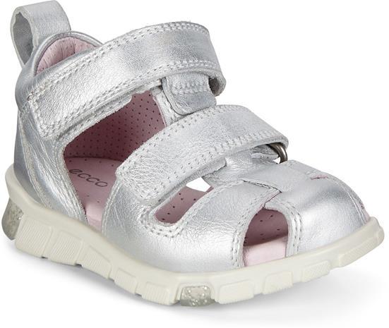 ECCO Mini Stride Sandaalit, Silver Metallic, 22