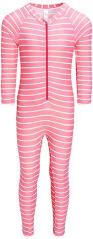 Luca & Lola Carini UV-Puku, Pink Stripes 122-128