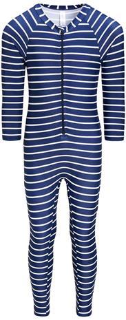 Luca & Lola Carini UV-Puku, Navy Stripes 110-116