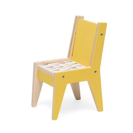 Littlephant, Doll House furniture - Chair - Yellow