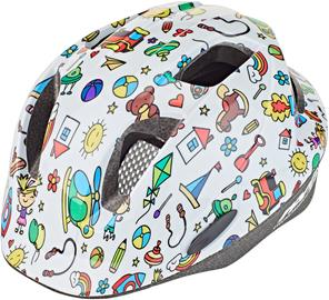 Red Cycling Products Rider Kid Helmet Kids, white