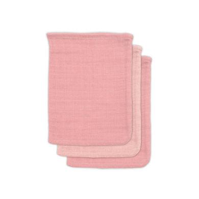 jollein Bamboo Pesuliina 3-pack vaaleanpunainen