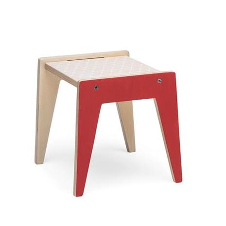 Littlephant, Doll House furniture - Table - Red