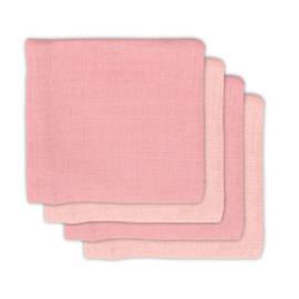 jollein Bambuharsovaipat 4-pakkaus vaaleanpunainen 70x70cm