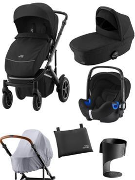 Starttipaketti Britax Smile III TARJOUSHINTA 1199€ (norm.1321) lisävarusteet ja Baby-Safe2 iSize
