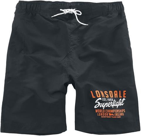 Lonsdale London - Hayden - Uimashortsit - Miehet - Musta