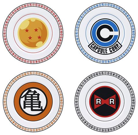 Dragon Ball - Emblems - Lautanen - Unisex - Monivärinen