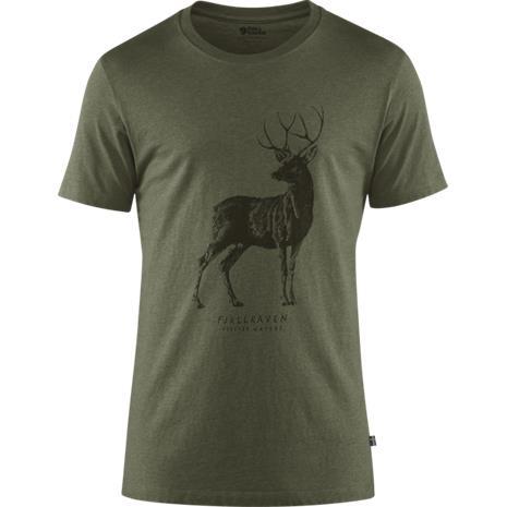 Fjällräven Deer Print T-Shirt M