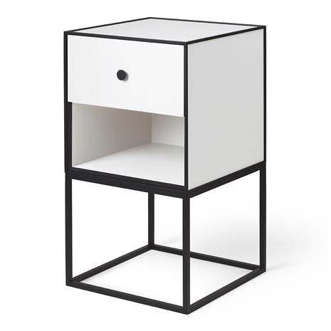 By Lassen Frame 35 sivupöytä Valkoinen